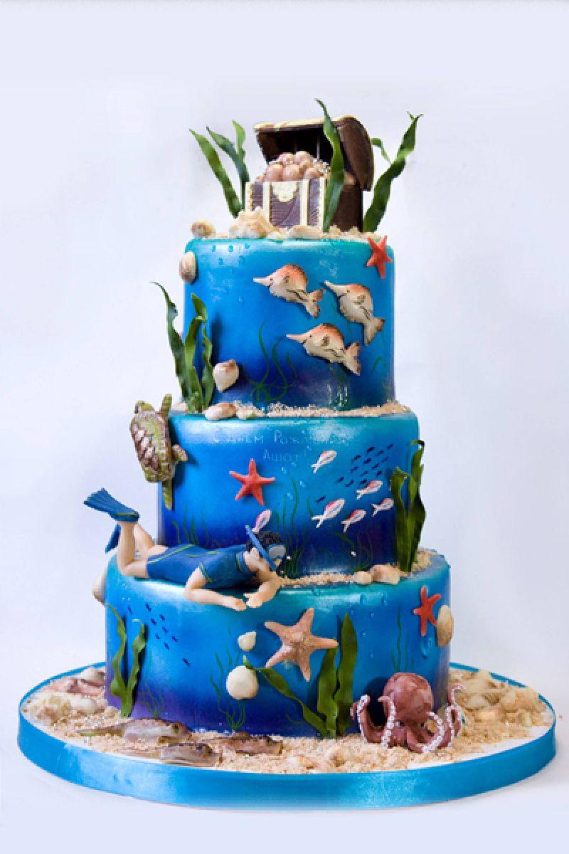 Подводное поздравление с днем рождения